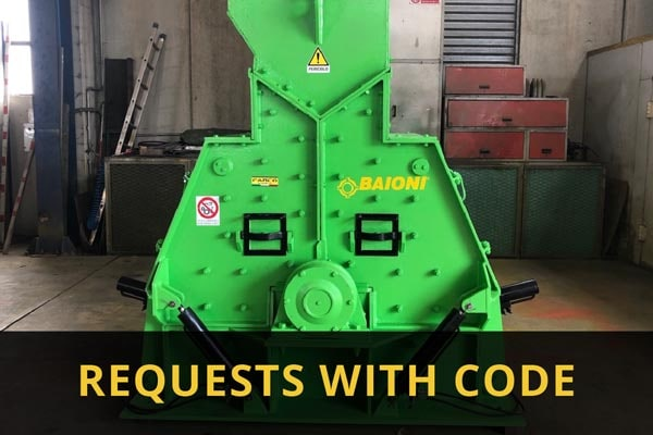 Requests with code
